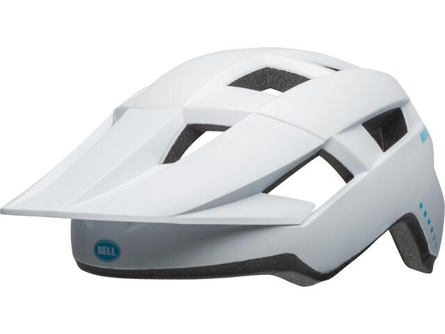 Bell Spark MIPS Cykelhjelm Damer, matte white/raspberry